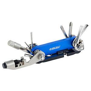 Велоключ 92мм 15в1+лопатка монтажна Sigma (4375631)