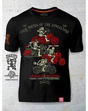 PEKLO.TOYS футболка Байкери апокаліпсису Black