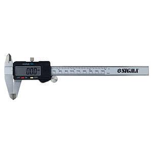 Штангенциркуль цифровой SIGMA (3923021)