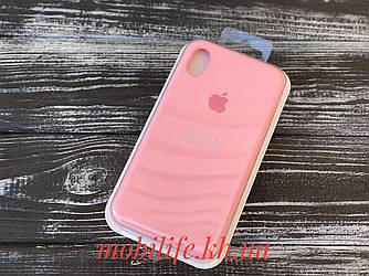 Чехол Silicon Case Original Apple iPhone XR/Бледно-Розовый/Высокое Качество/