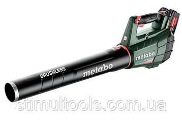 Аккумуляторная воздуходувка Metabo LB 18 LTX BL (18V 2X5.2AH LI-ION; ЗУ ASC 55; Картонная коробка)