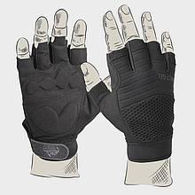 Перчатки тактические Helikon-Tex Half Finger - Black