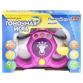"""Интерактивная игрушка """"Гоночный руль"""" (розовый) 7834 [int130498-TSI]"""