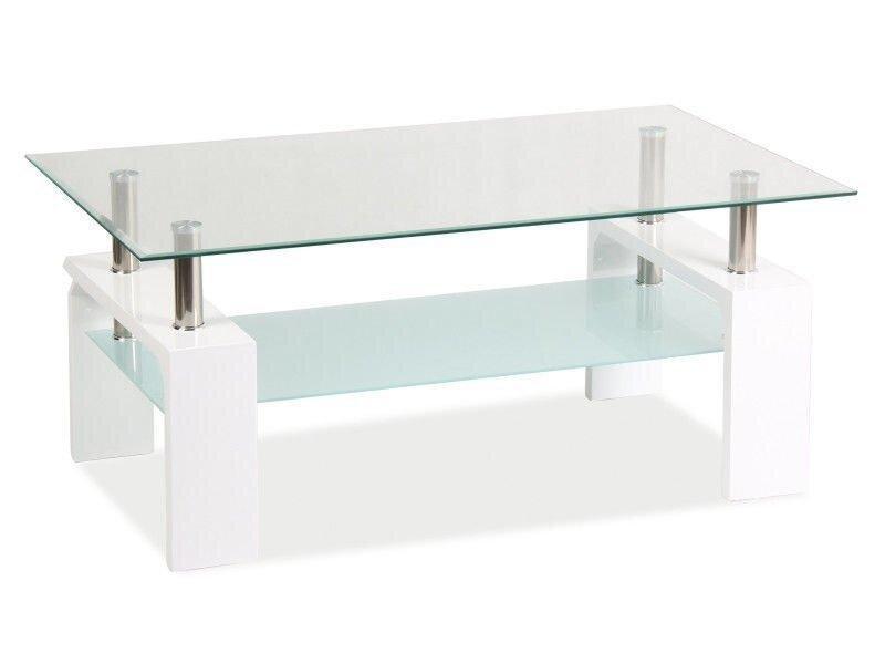 Журнальний столик LISA II Signal Білий 110х60