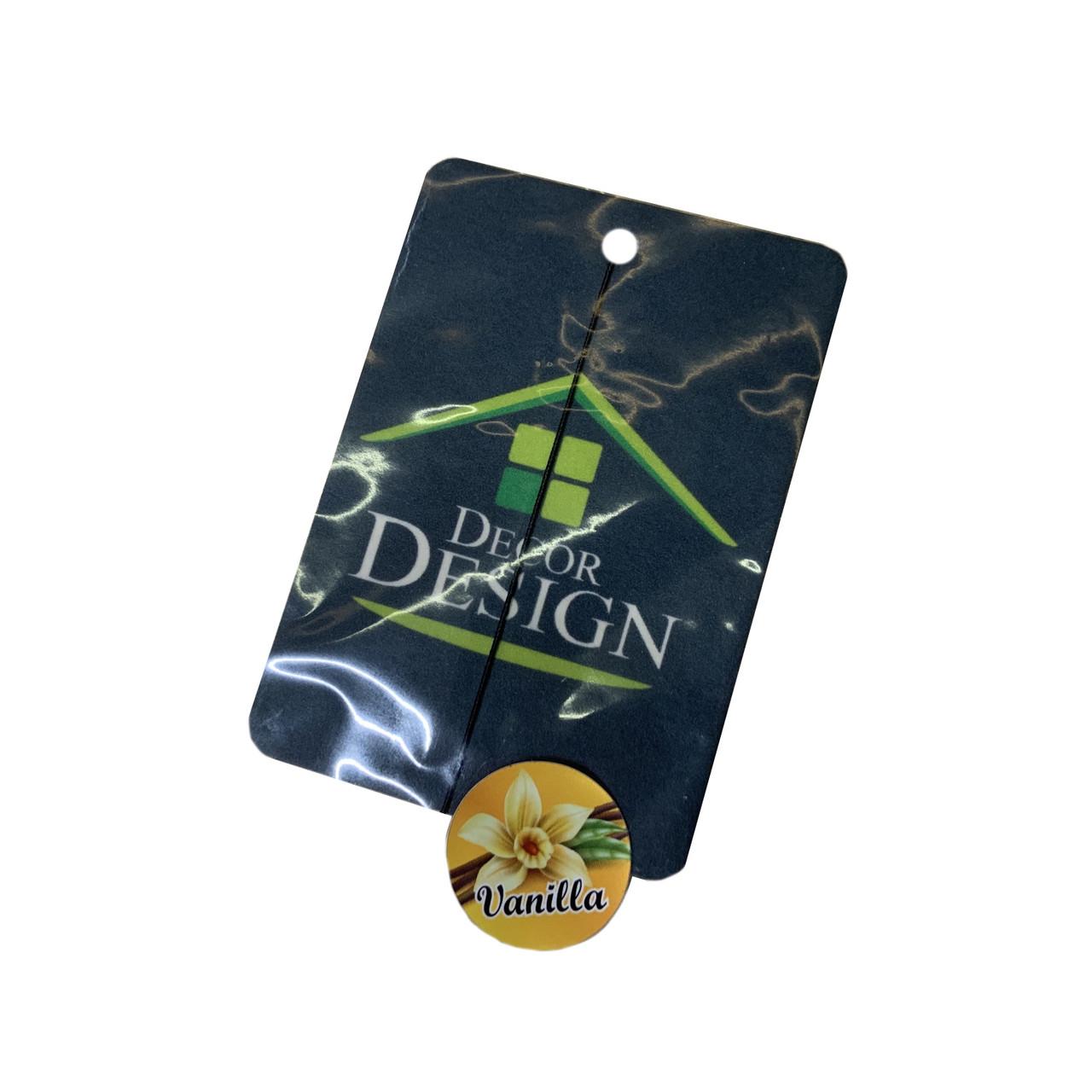 """Ароматизатор в машину """"Decor Design"""" Vanilla"""