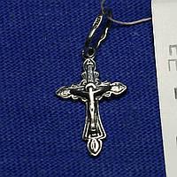 Серебряный крестик для крещения пс-231