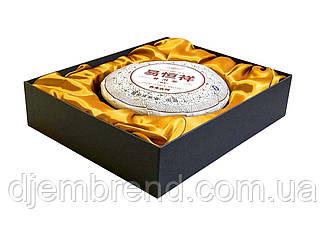 Чай Пуэр в подарочной коробке + сумка. Шу Пуэр Облако Манхая, 375 г.