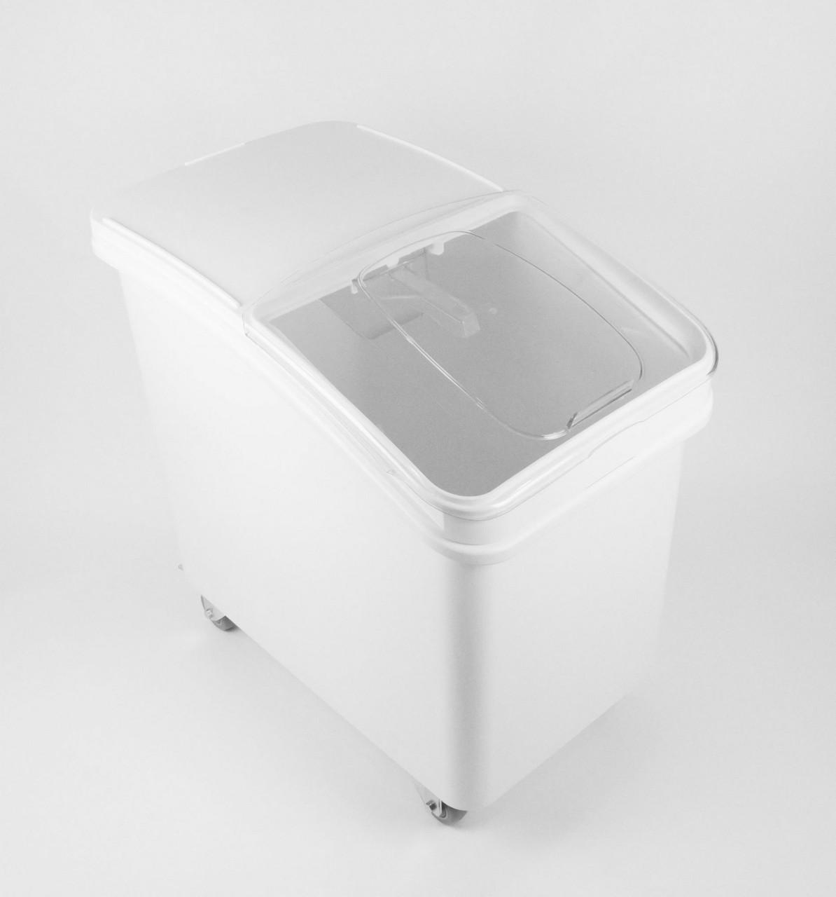 Контейнер для сипучих інгредієнтів, підлоговий на коліщатках, 102 л.
