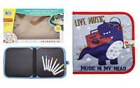 """Книжка-коврик для рисования водными мелками """"Динозавр"""" RE 333-63-66-69-70 [raz143498-TSI]"""
