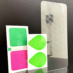 Защитное стекло iPhone XS Max прозрачное