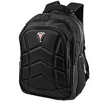 Чоловічий спортивний рюкзак (3DETBI2014-2) Valiria Fashion 31х46х21 см Чорний