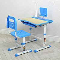 Детская парта M 4428 (W)-4 со стульчиком, синяя