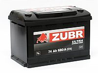 Акумулятор 74Ач 680А Зубр Ультра Zubr Ultra 12В