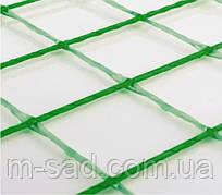 Сетка для растений, GREENmesh ячейка 100*100*3,3мм*1м,рулон 25м.кв