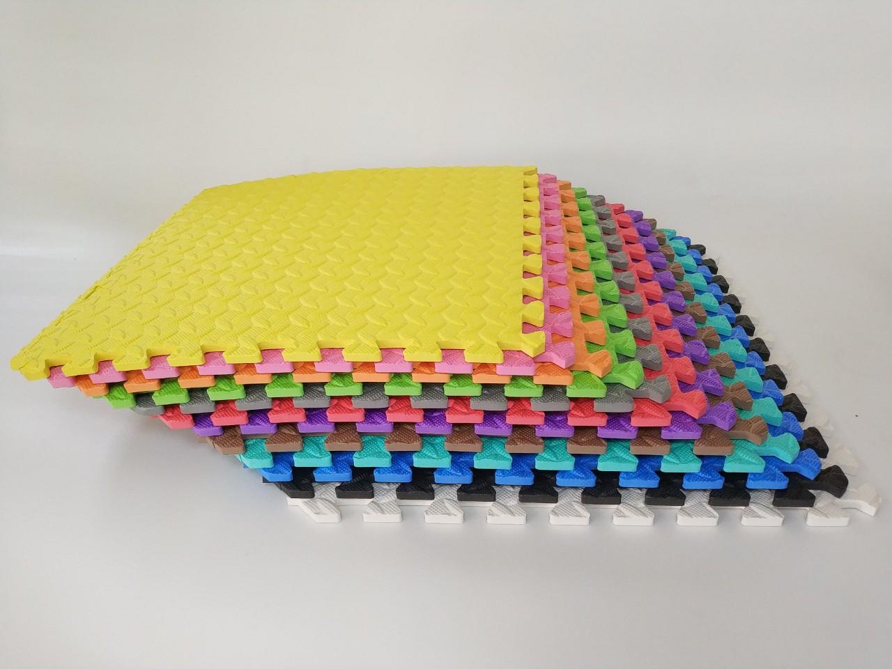 Татами (коврик-пазл) односторонний EVA 50х50 см толщина 10 мм