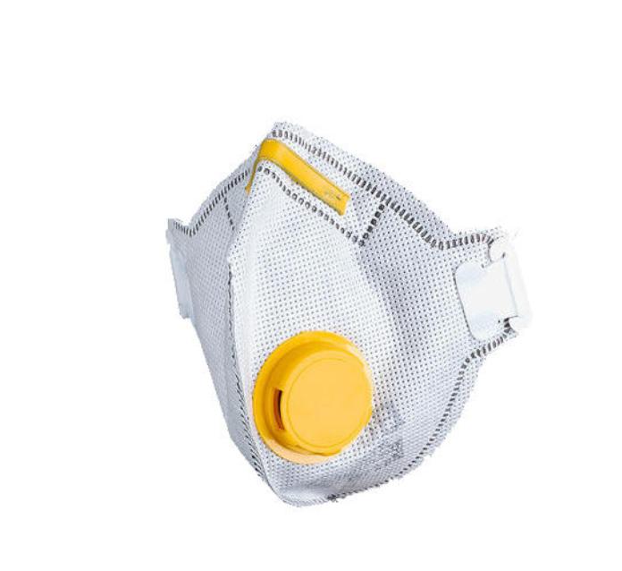 Маска-респиратор Vita - Delta Plus угольный, противоаэрозольный