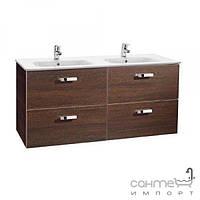 Мебель для ванных комнат и зеркала Roca Тумба с раковиной Roca Victoria Basic 120 орех A855850222