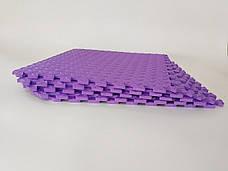 Татами (коврик-пазл) односторонний EVA 50х50 см толщина 10 мм, фото 2