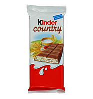 Kinder Country Шоколад со злаками