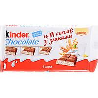 Kinder Country Шоколад со злаками 4шт