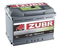 Акумулятор 77Ач 720А Зубр Преміум Zubr PREMIUM 12В