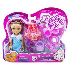 """Игровой набор с куклой """"Sweet girl"""", в голубом BLD227 [kuk153603-TSI]"""