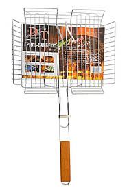 Решетка-гриль для мангала D&T - 440 x 330 x 65 мм