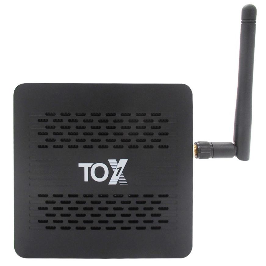 Смарт ТВ приставка TOX1 4/32 GB Amlogic S905X3 Android TV Box