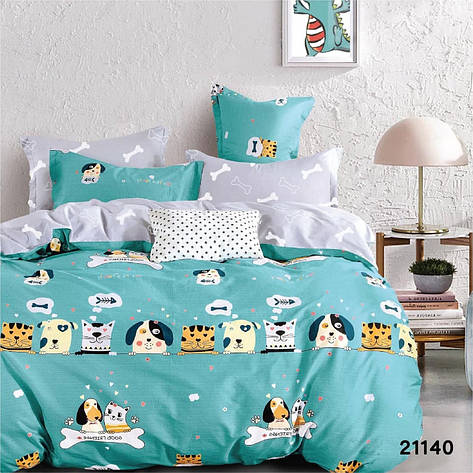 Комплект постельного белья подростковый ранфорс ТМ Вилюта, фото 2