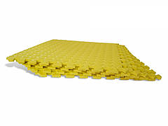 Мягкий пазл Татами EVA 10мм 50х50см (1шт) Желтый