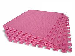 Мягкий пазл Татами EVA 10мм 50х50см (1шт) Розовый