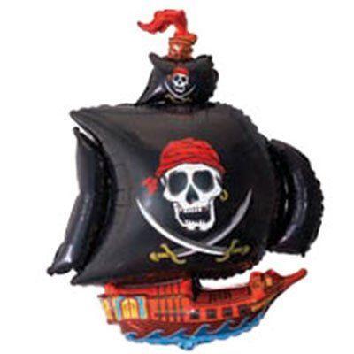 Flexmetal Ф ФІГУРА/11 Корабель піратский чорний