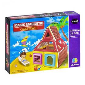 """Магнитный конструктор """"Пляж"""" 32 дет 1576796_JH881 [mag128775-TSI]"""