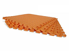 Мягкий пазл Татами EVA 10мм 50х50см (1шт) Оранжевый