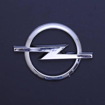 "Эмблема ""Opel""  80мм\пластик\хром\скотч"
