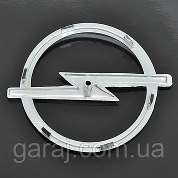 "Эмблема  ""Opel"" 126х114мм\пластик\хром\1 пукля (Astra II перед)"