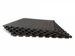 Мягкий пазл Татами EVA 10мм 50х50см (1шт) Черный