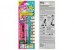 Детский лак-карандаш для ногтей Malinos Creative Nails на водной основе (2 цвета розовый + фиолетовый)