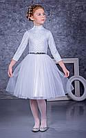 Нарядное детское платье для девочки 9-10 лет