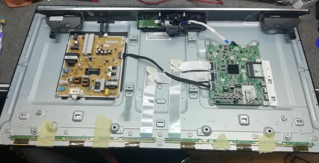 Запчасти к телевизору LG 43UH7507 (UD63J Eax66804605, lgp43s-16ul6 EAX67044601, LGSBWAC61)