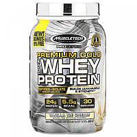 100% сывороточный протеин, ванильное мороженое, ProSeries, Premium Gold 100% Whey Protein, Vanilla Ice Cream,
