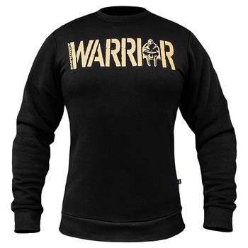 "Свитшот  ""WARRIOR"" Black"