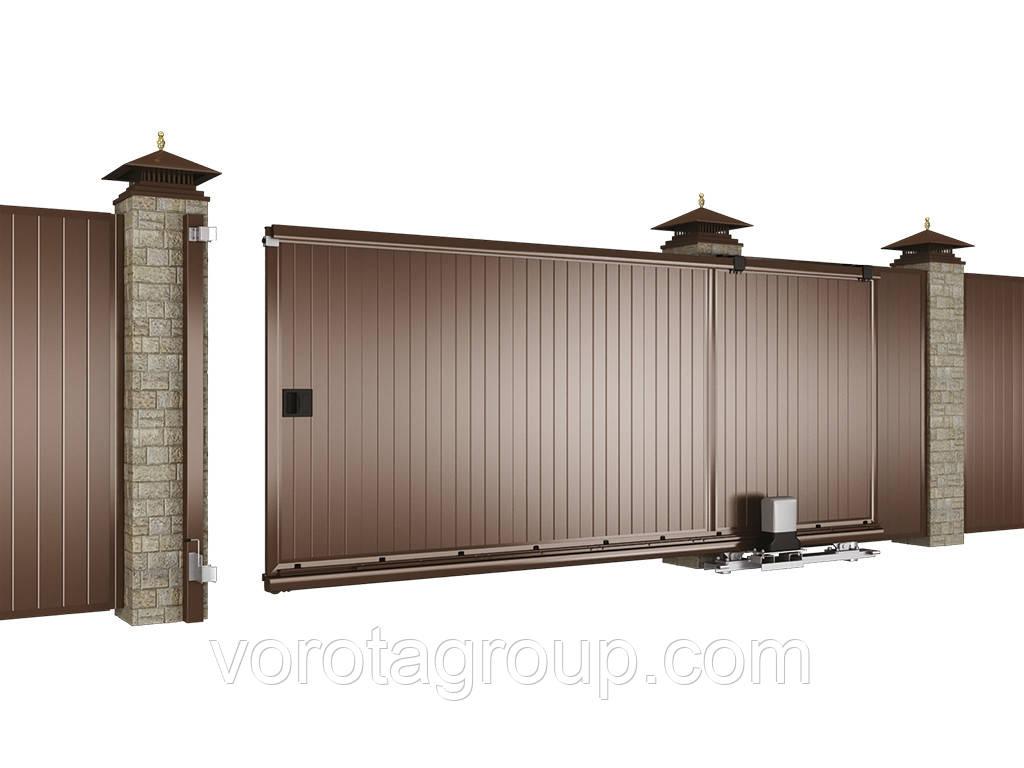 Откатные ворота DoorHan 4000 мм * 2300 мм