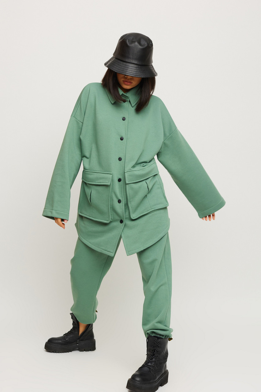 Модний повсякденний трикотажний костюм жіночий