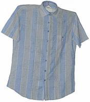 Приталенная рубашка в полоску, фото 1