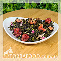 Чай зелений Оолонг полуниця малина,1 кг