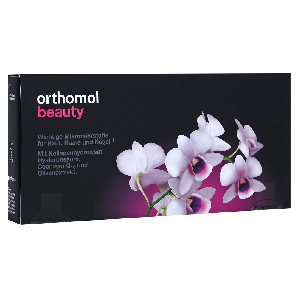 Orthomol Beauty, Ортомол Бьюти, 7 дней (питьевые бутылочки)