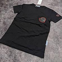Мужская футболка Moncler CK2096 черная