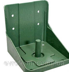 Подставка для соли-лизунца цвет зеленый