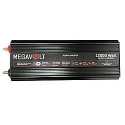 Преобразователь напряжения. Инвертор 12v-220v 12000W LED экран MEGAVOLT